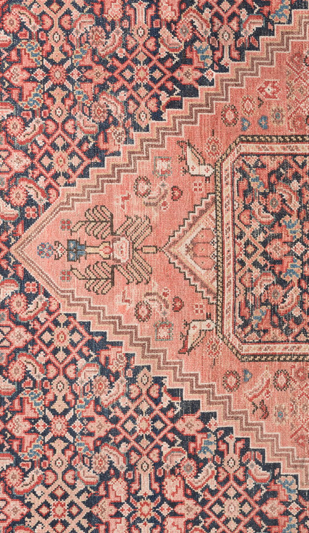 Lot 302 Antique Persian Hall Rug