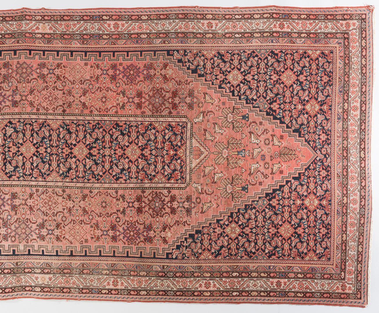 Lot 302: Antique Persian Hall Rug