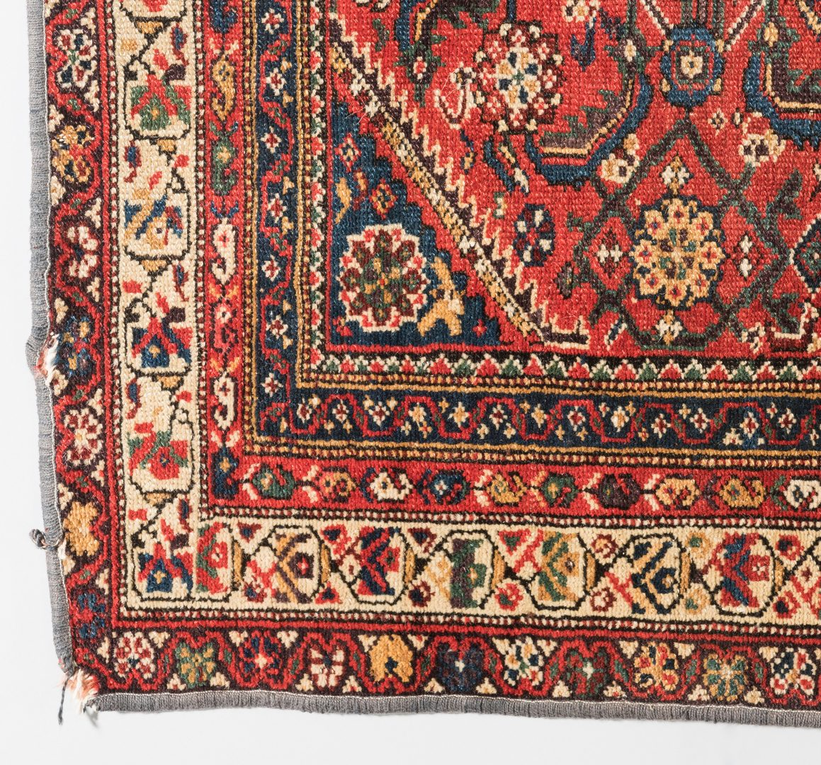 Lot 304: Antique Kurdish Runner, 12.7 x 3.6