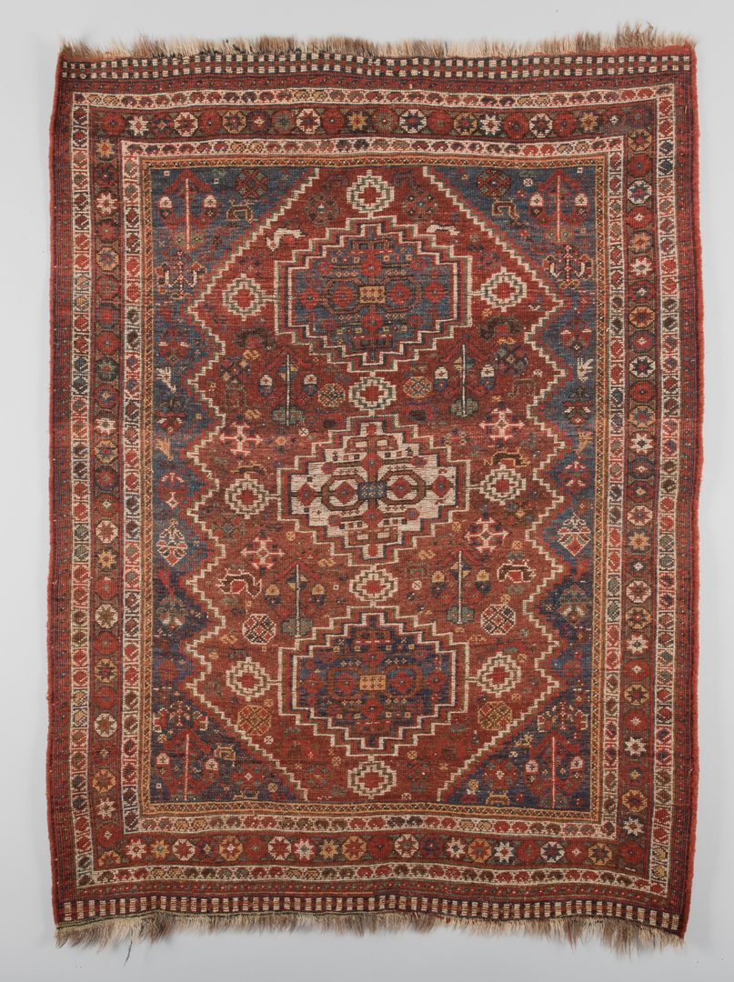 Lot 307: Antique Persian Afshar area rug