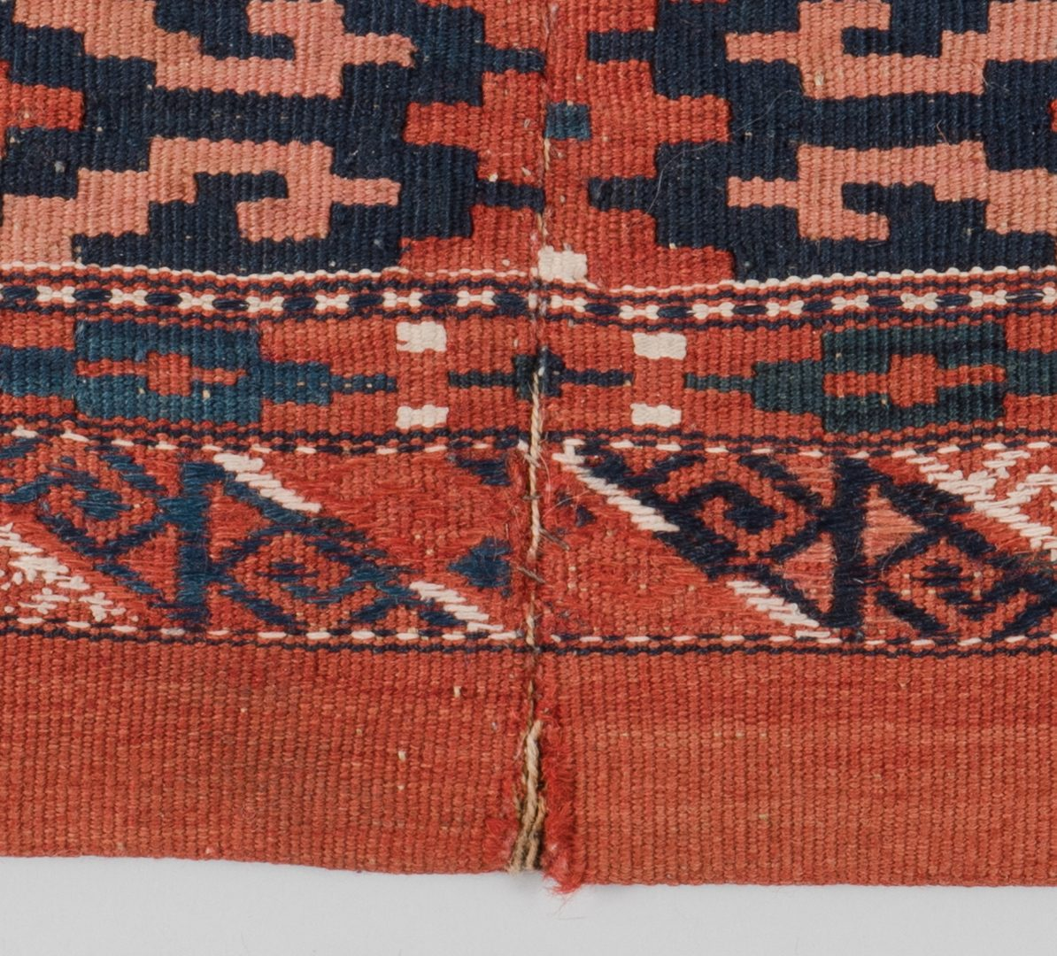 Lot 309: Two Turkoman Bags, early 20th c.