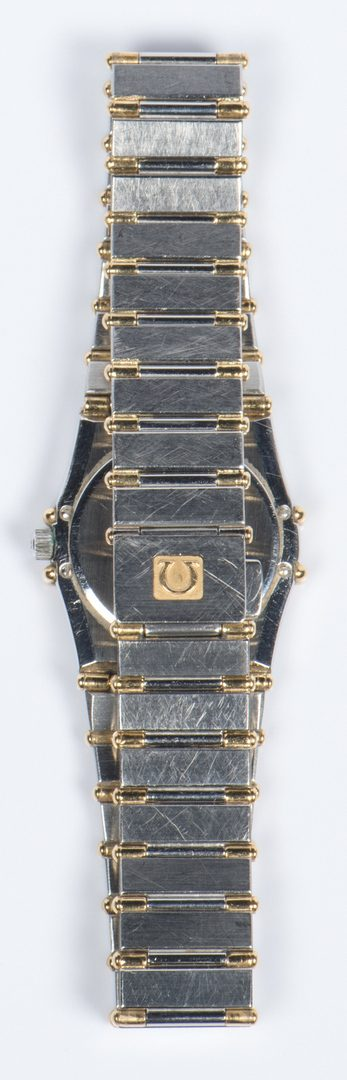 Lot 328: Omega Constellation Dia Watch