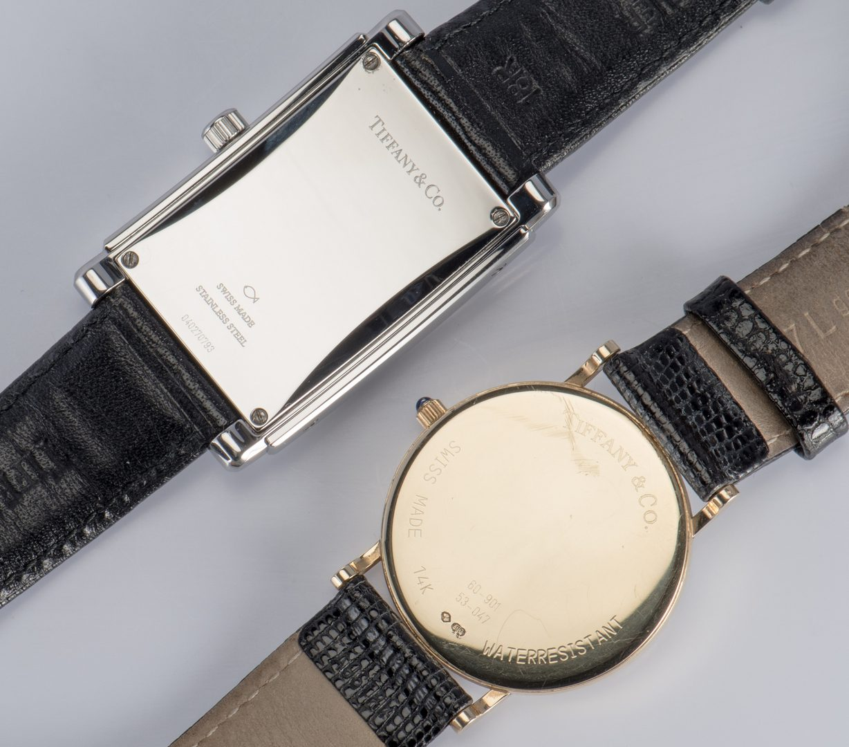 Lot 330: 2 Tiffany Men's Classic Watches