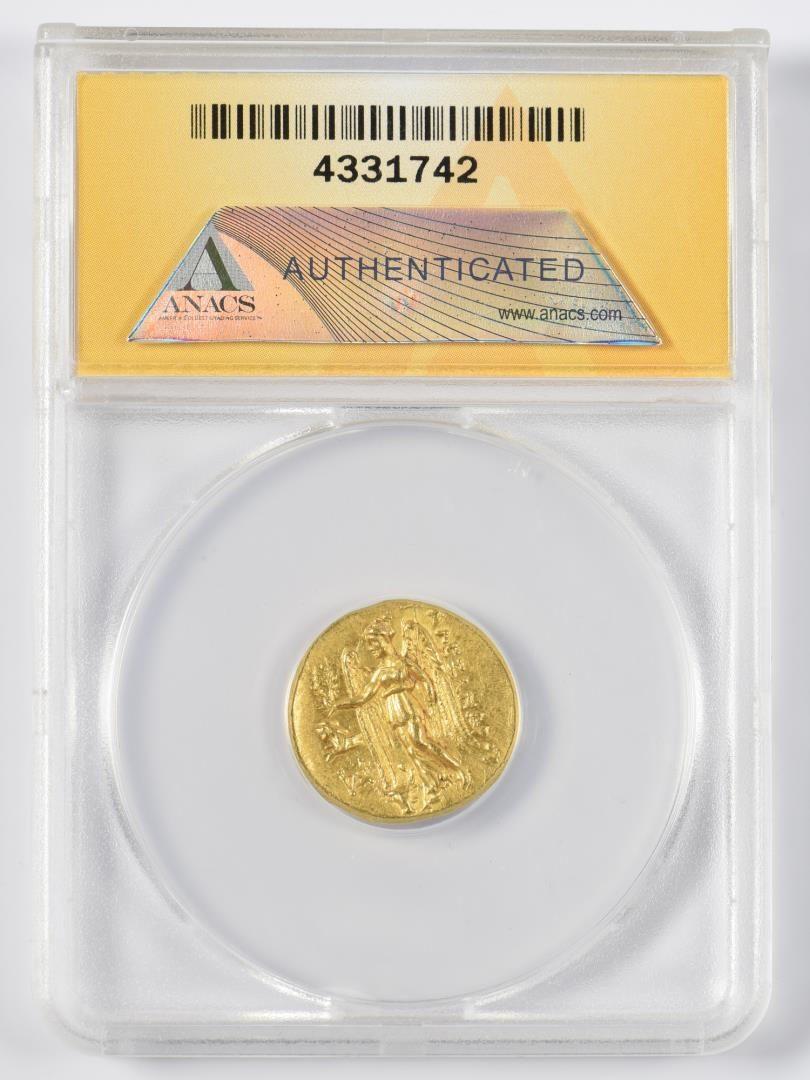 Lot 332: Alexander the Great AV Stater Coin, Sestos Mint