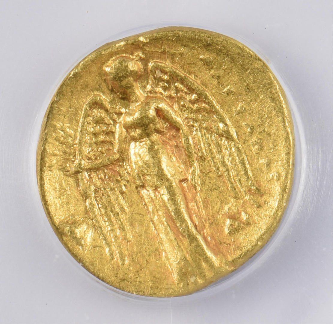 Lot 334: Alexander the Great AV Stater Coin, Memphis Mint