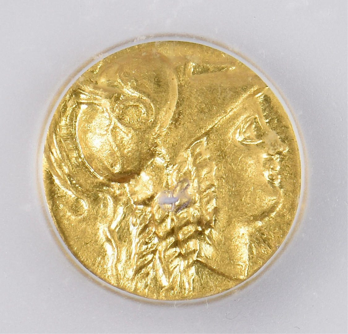 Lot 342: Alexander the Great AV Stater Coin, Citium Mint