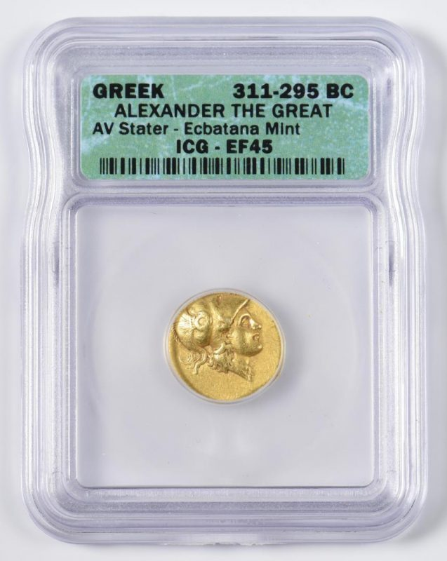 Lot 349: Alexander the Great AV Stater, Ecbatana Mint