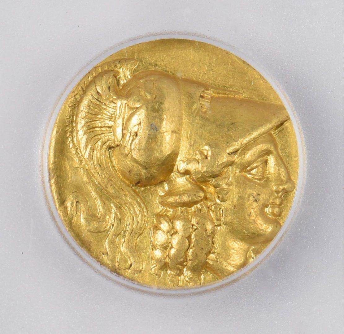 Lot 350: Alexander the Great AV Stater, Side Mint