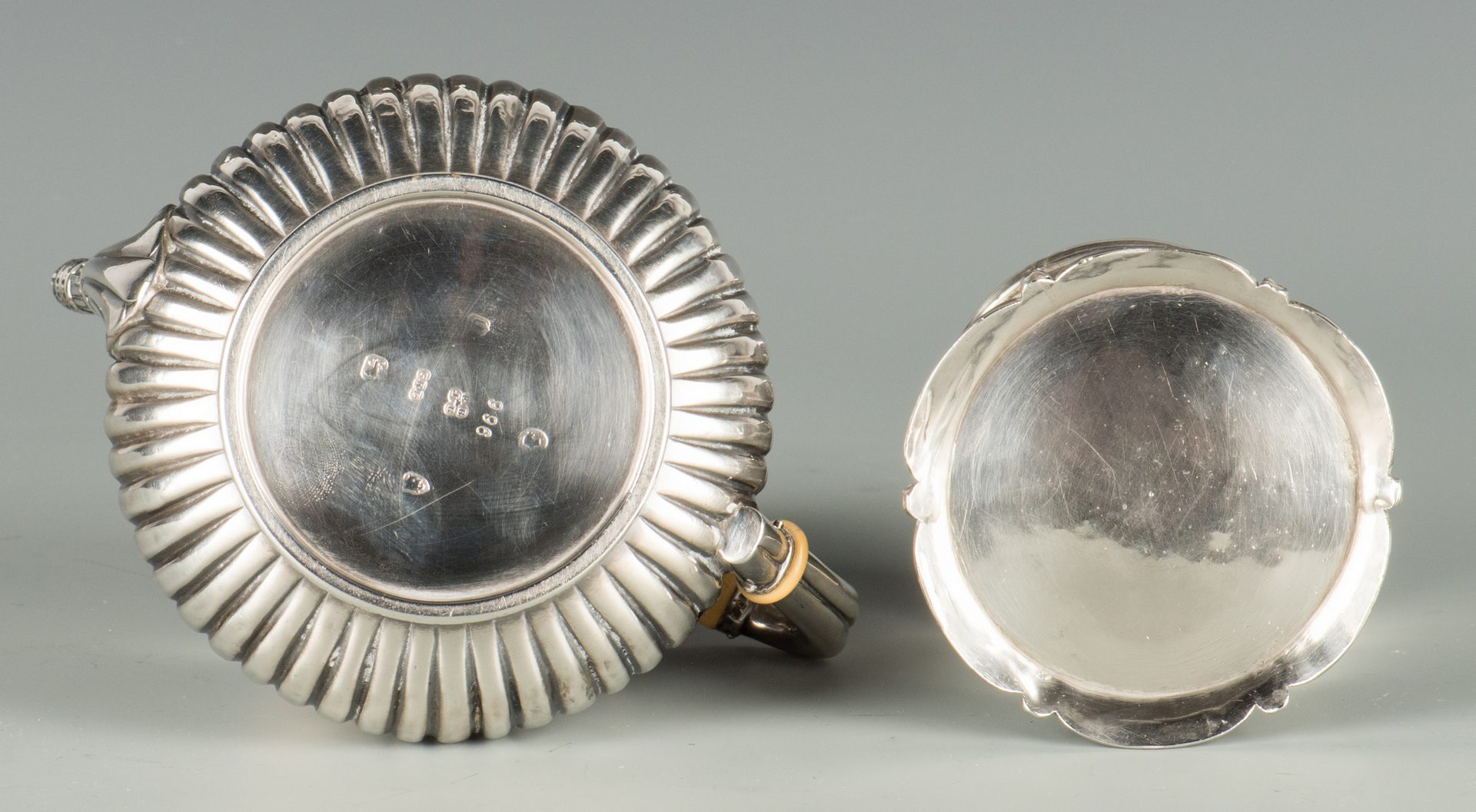 Lot 362: 6 Pcs. English Victorian Sterling Silver