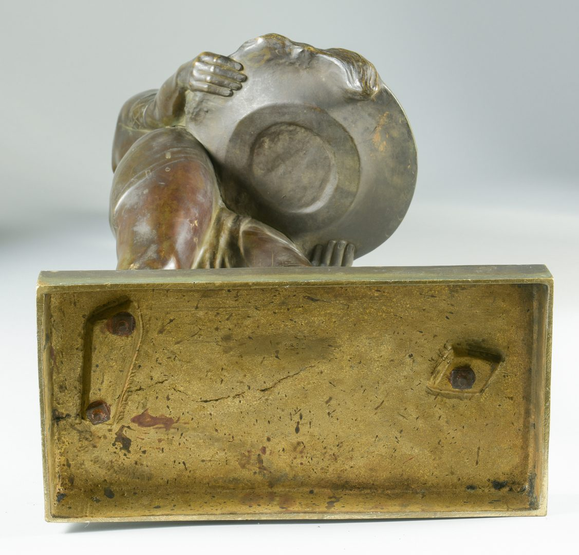Lot 385: Manette de Lyee de Belleau Bronze