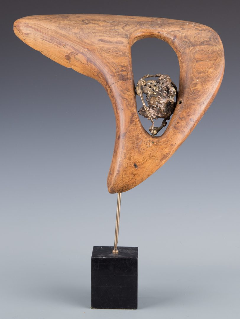 Lot 389: Beverly Pepper Abstract Sculpture