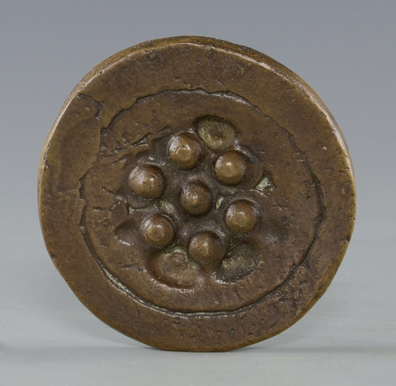 "Lot 390: Marcel Duchamp ""Sink  Stopper"" Medallion"