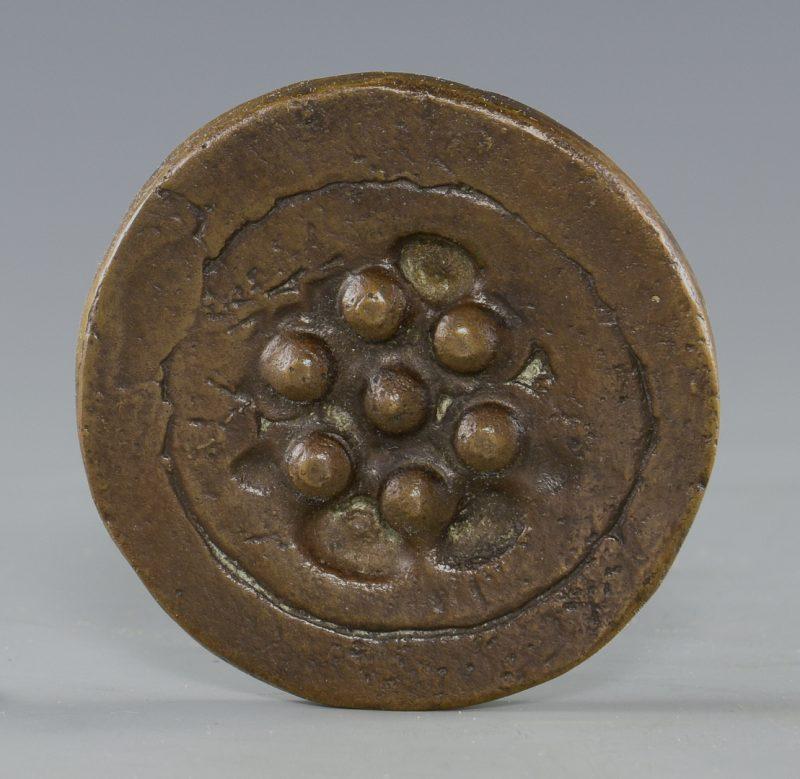 """Lot 390: Marcel Duchamp """"Sink  Stopper"""" Medallion"""