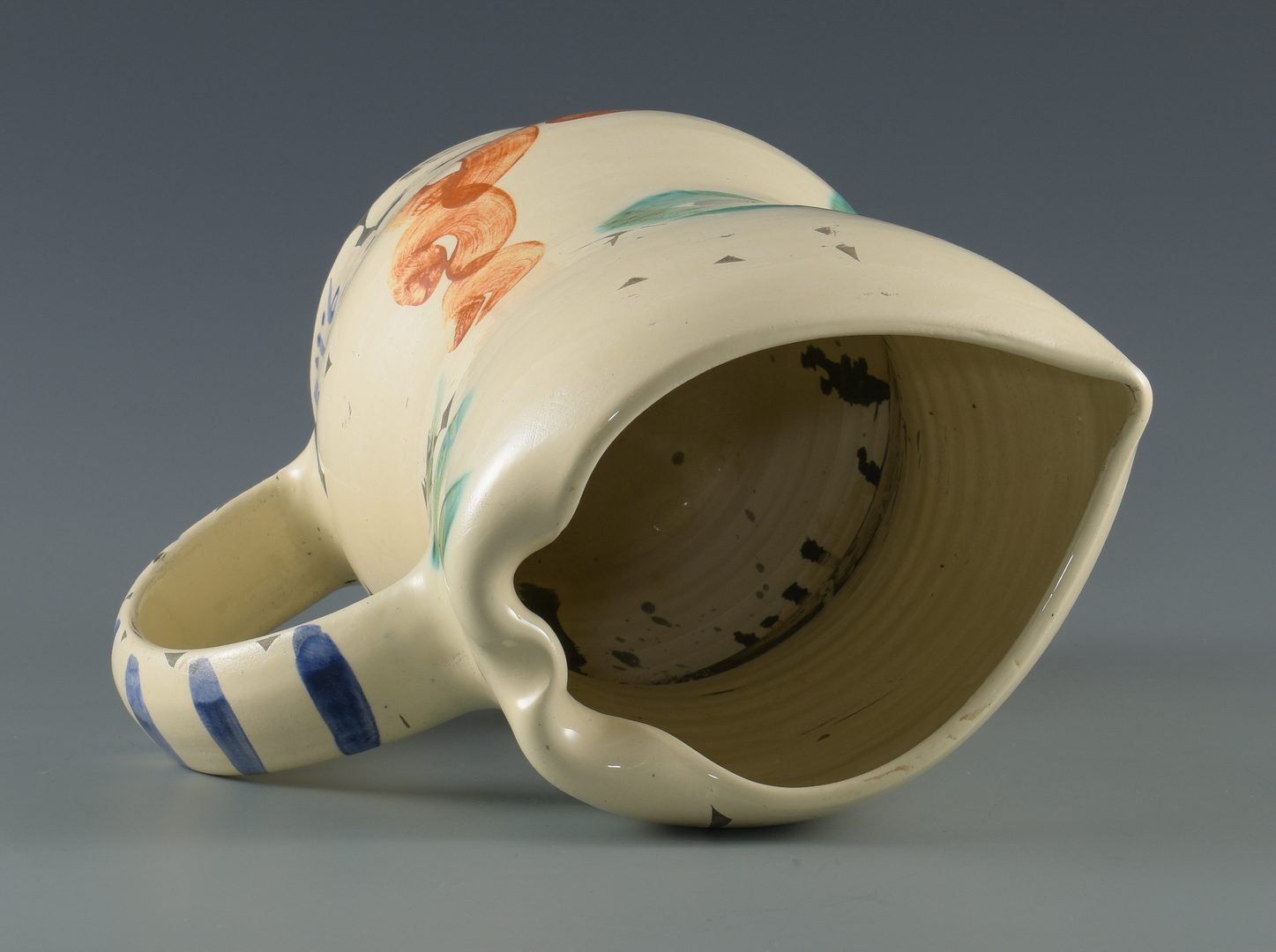 "Lot 404: Picasso Ceramic Vessel ""Visage Aux Cercles"""