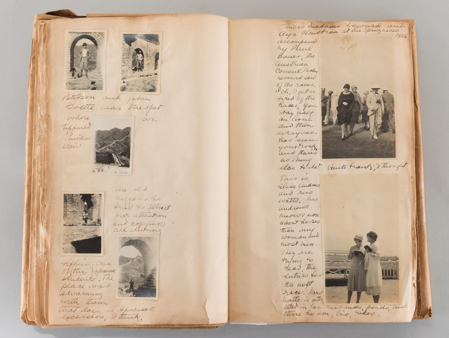 Lot 40: Diary of Far East Travels 1924-1944