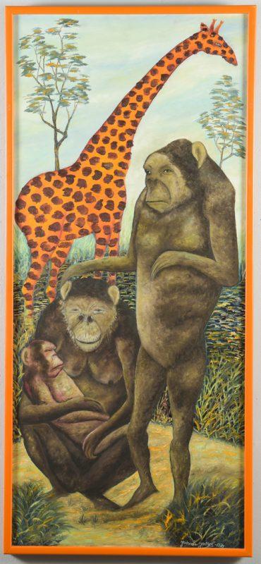 Lot 422: Jasmin Joseph O/B Animals