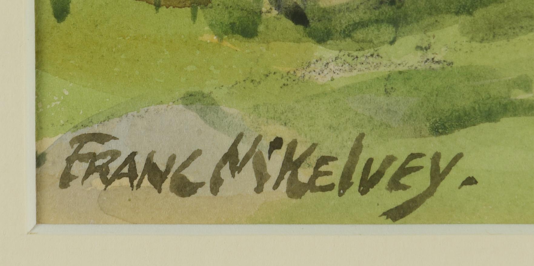 Lot 429: Frank McKelvey Watercolor