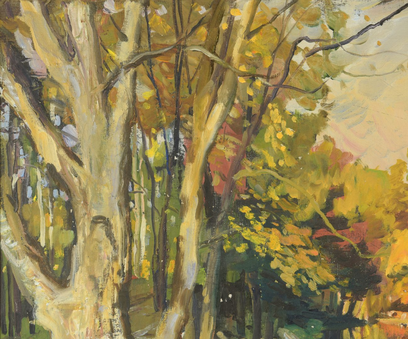 Lot 440: G. Cherepov Autumn Landscape