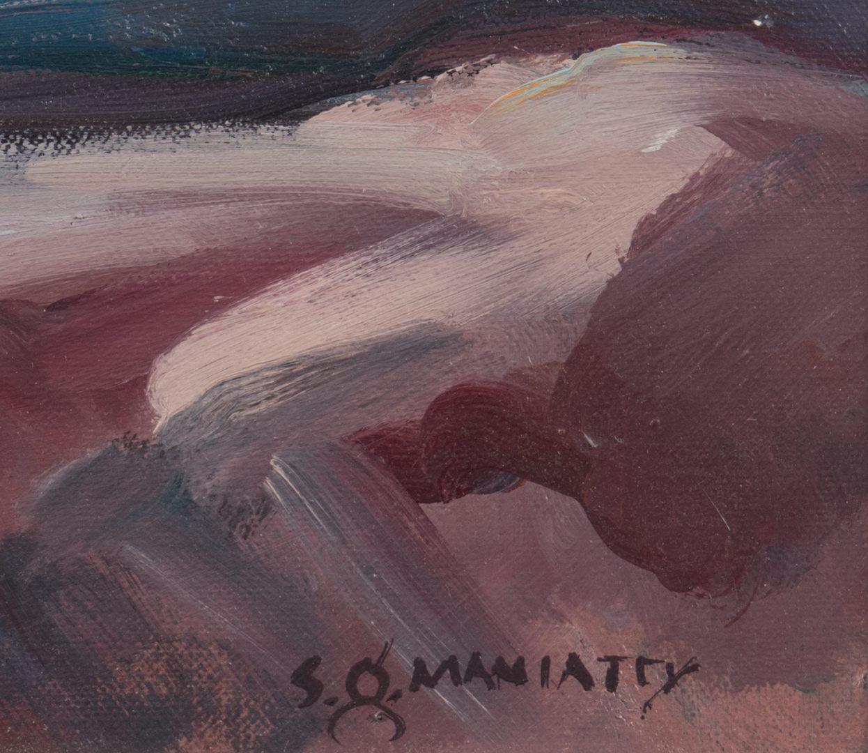 Lot 447: Stephen Maniatty, O/C, Still Life