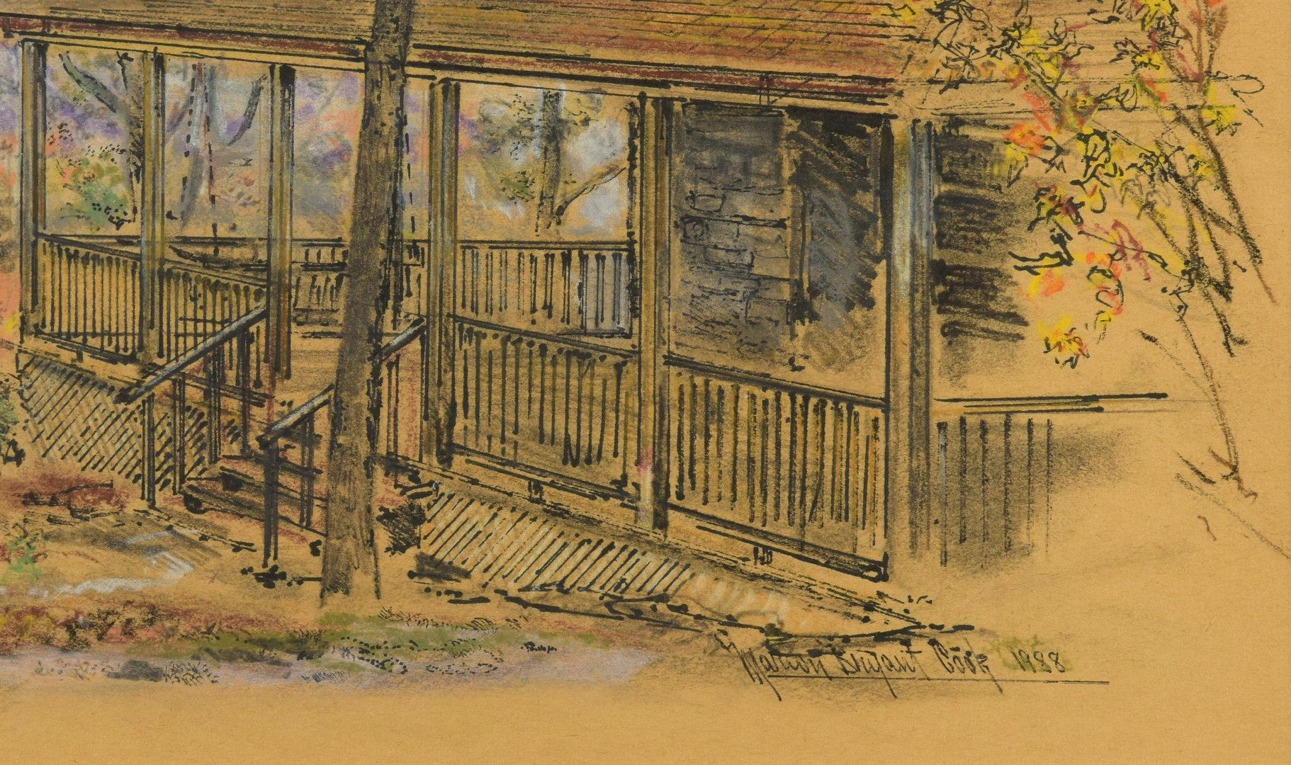 Lot 451: Marion Cook Smoky Mtns Cabin