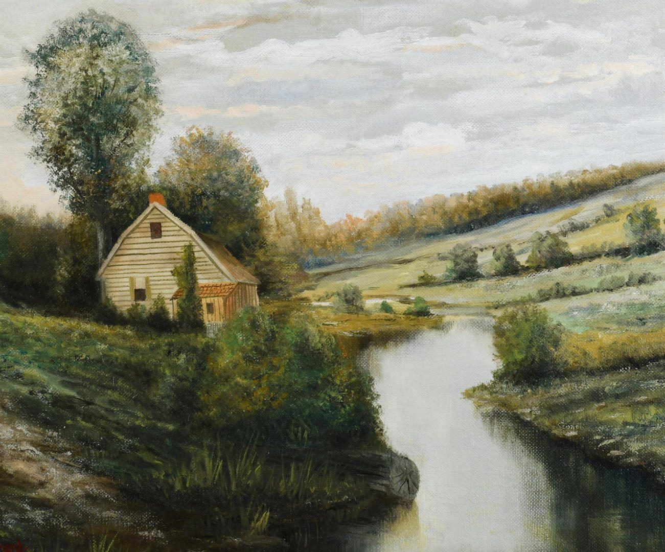 Lot 455: Washington Girard TN Landscape