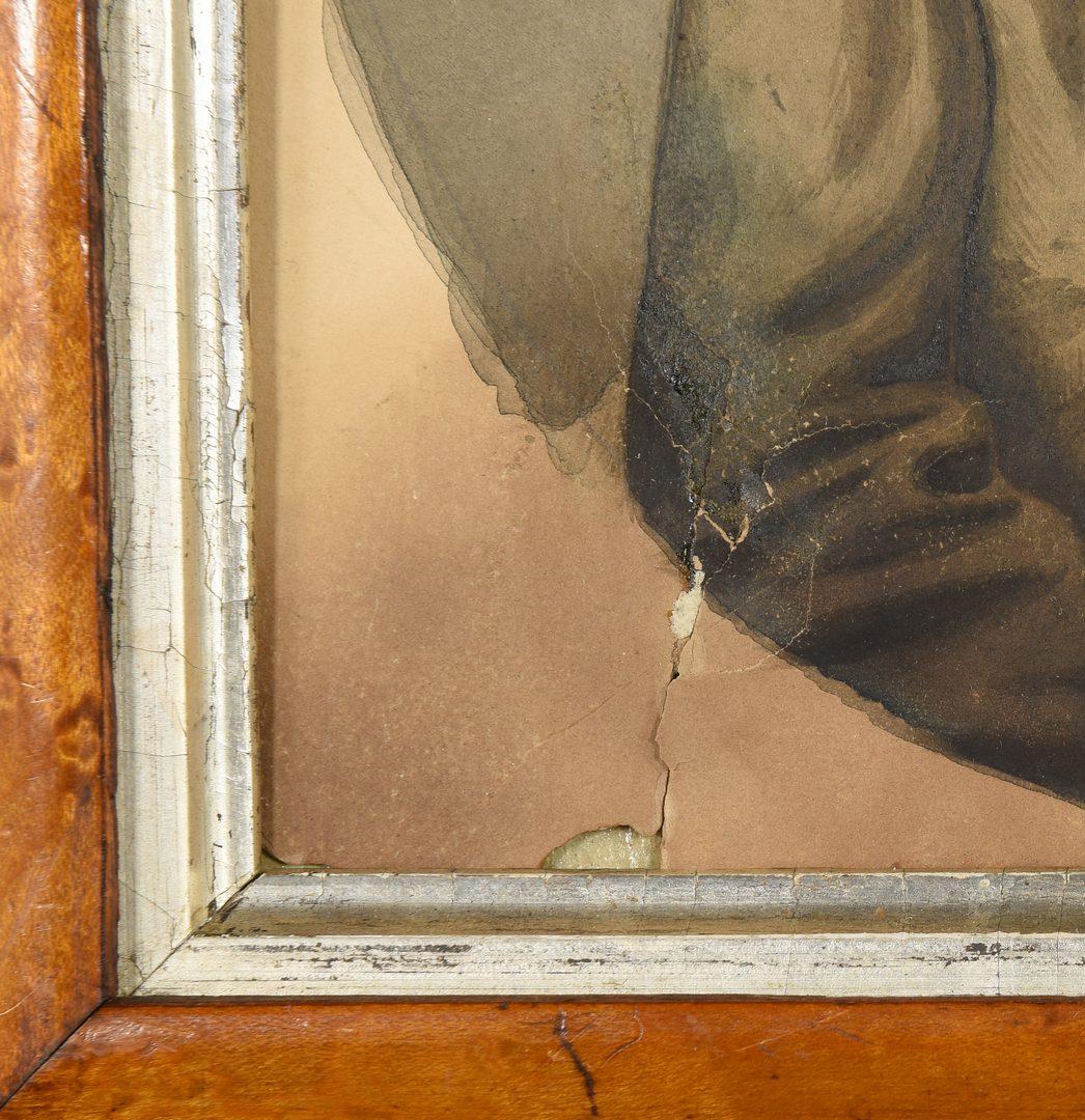 Lot 457: John Wood Dodge Portrait of a Boy