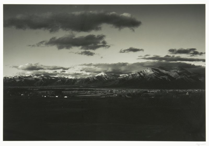 Lot 464: Jack Spencer Southwestern Photograph