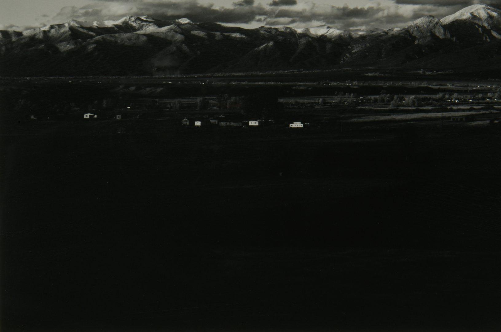Lot 464: Jack Spencer Southwestern Photograph