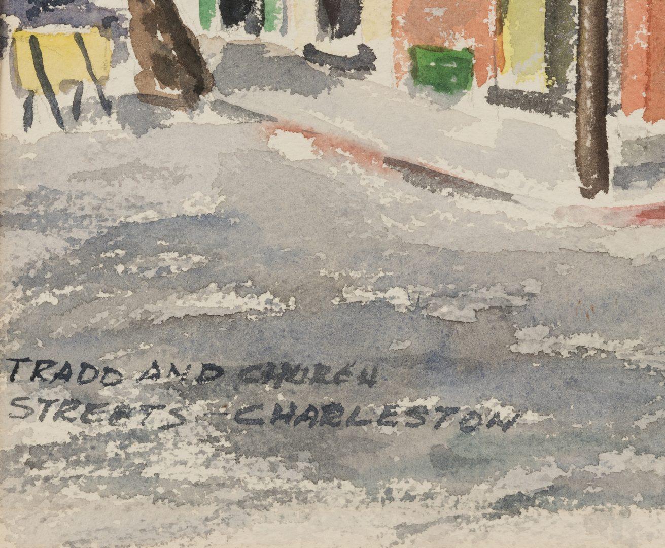 Lot 465: Vicksburg and Charleston Watercolors