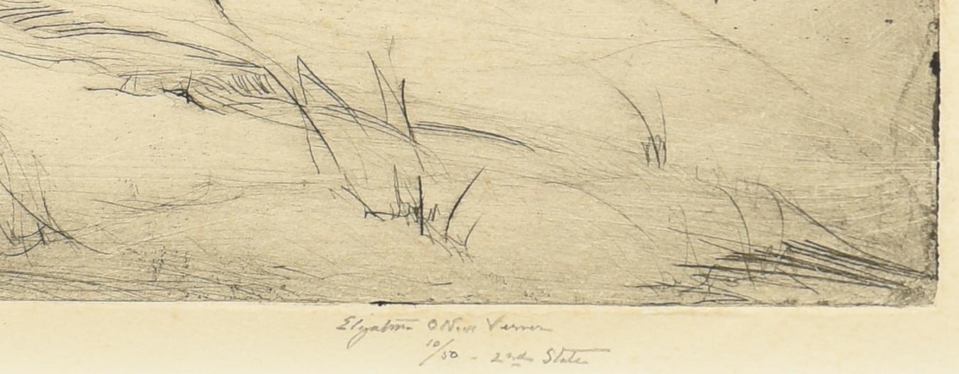 Lot 466: Elizabeth O'Neill Verner etching