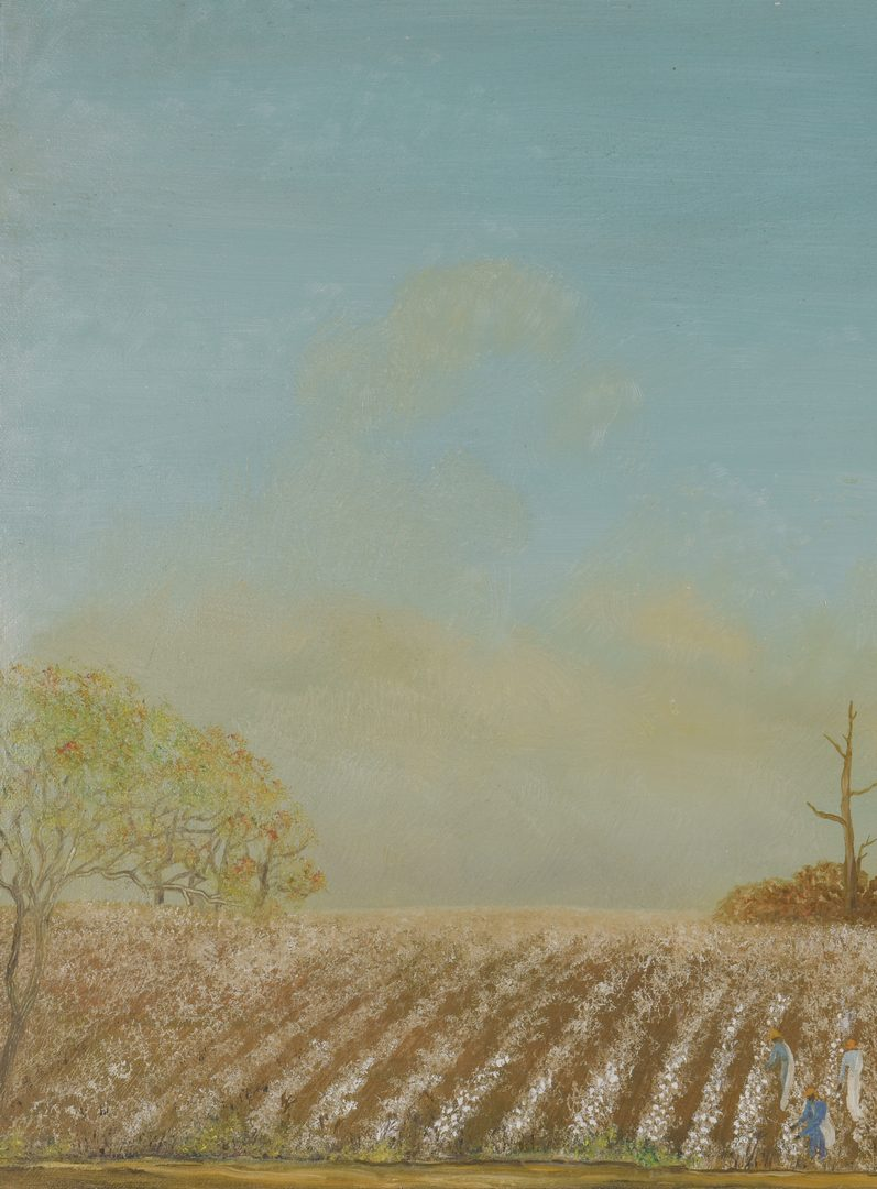 Lot 471: Helen LaFrance, O/C, Cotton Field
