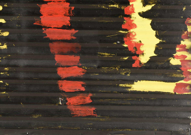 Lot 481: Mary Tillman Smith, Oil on Tin Painting