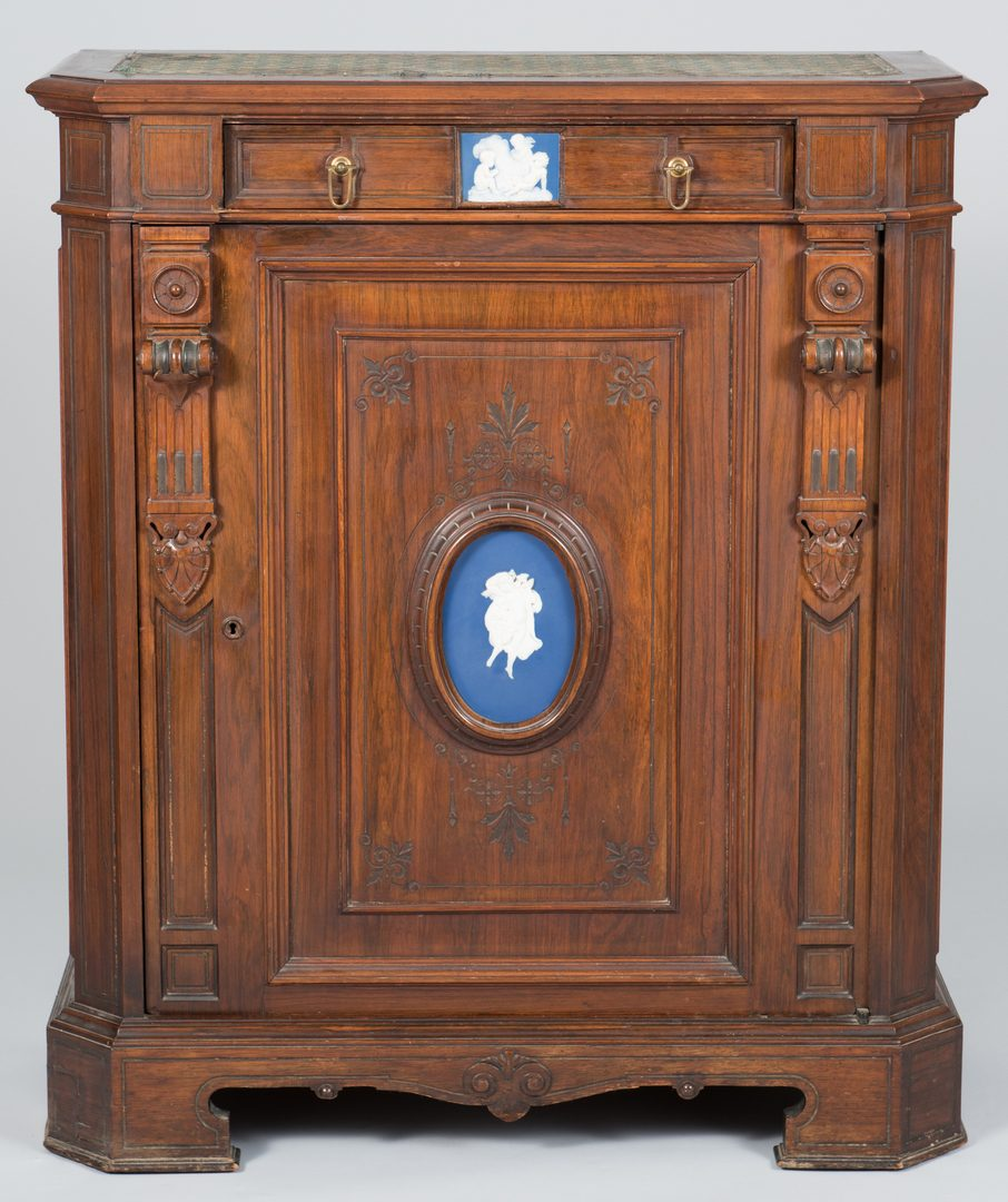 Lot 484: Renaissance Revival Cabinet