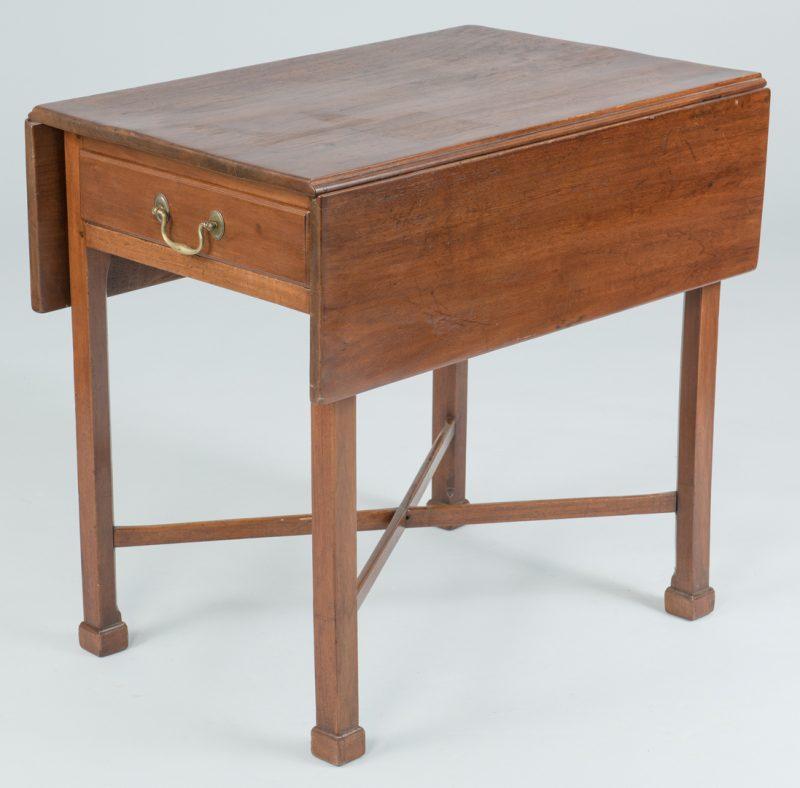 Lot 493: George III Pembroke Table