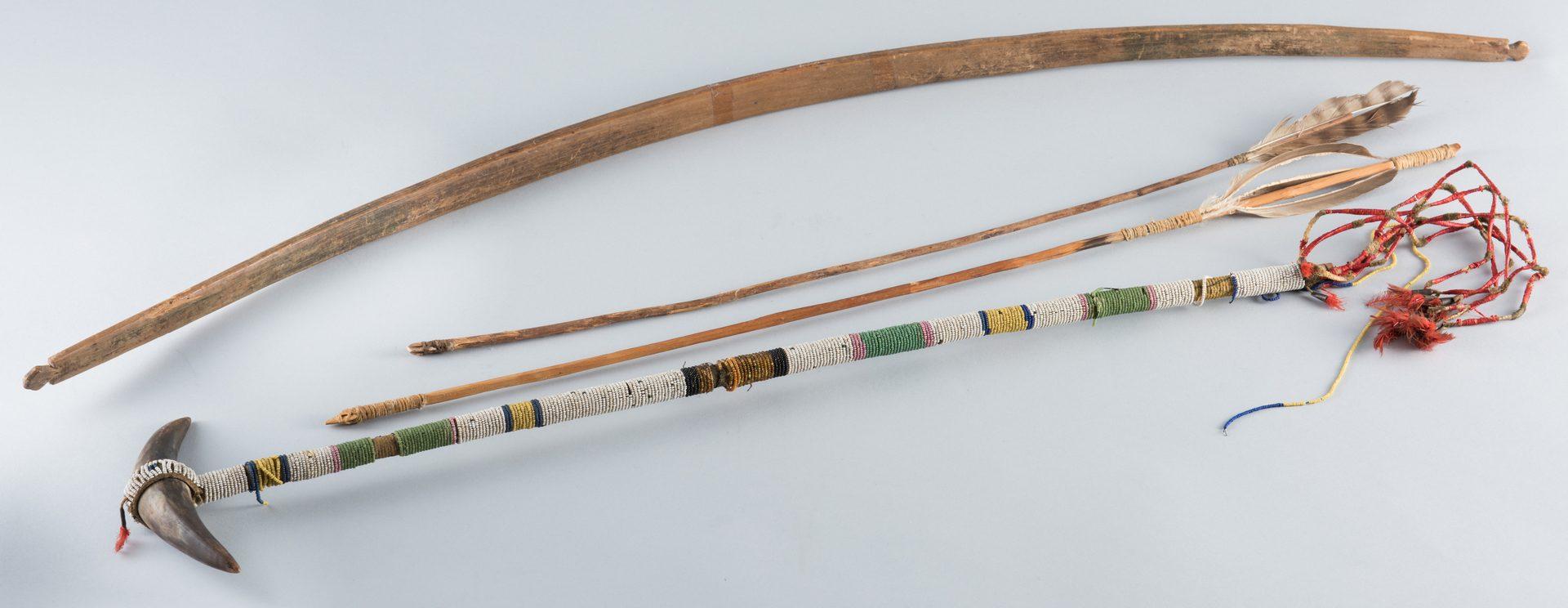 Lot 511: Winnebago Bow, Arrow, Tomahawk