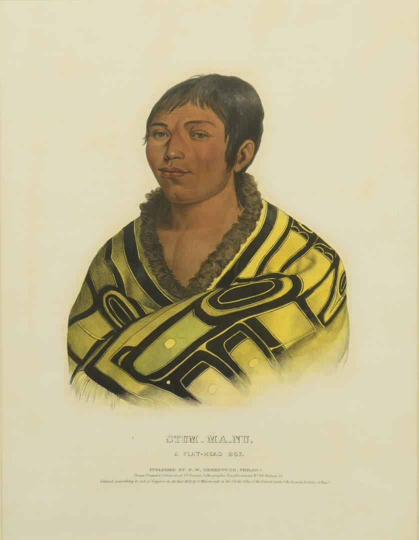 """Lot 514: """"Stum-Ma-Nu"""", Color Lithograph, L. T. Bowen"""