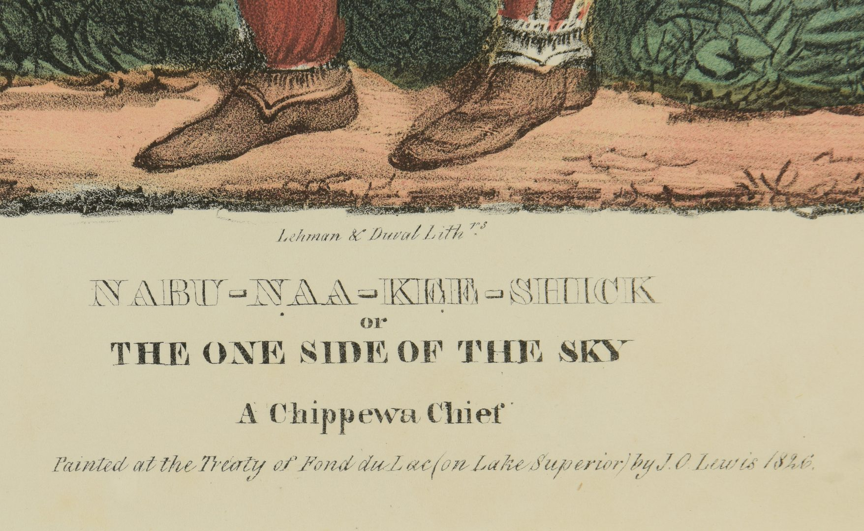 Lot 515: 2 19th Cent. Western Lithographs