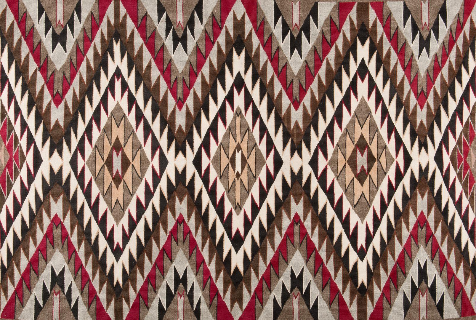 Lot 522: Navajo Eyedazzler Rug