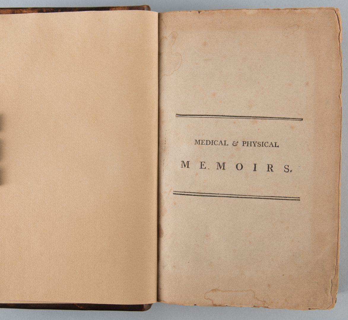 Lot 528: Caldwell Memoirs Pestilential Philadelphia 1801