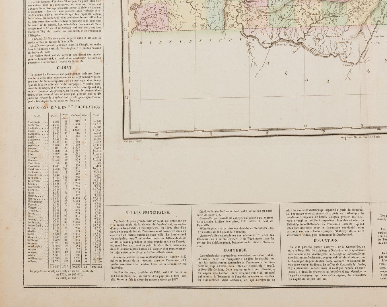 Lot 534: 2 European Maps of TN