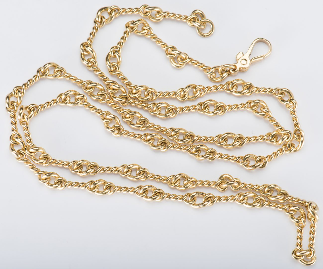 Lot 53: 18K Necklace or Watch Chain