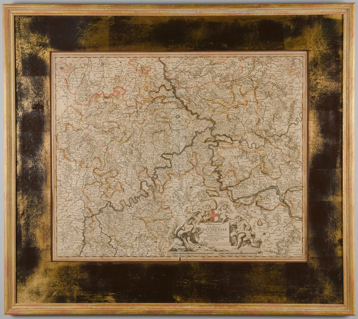 Lot 546: Map of the Rhine Forest, Germany