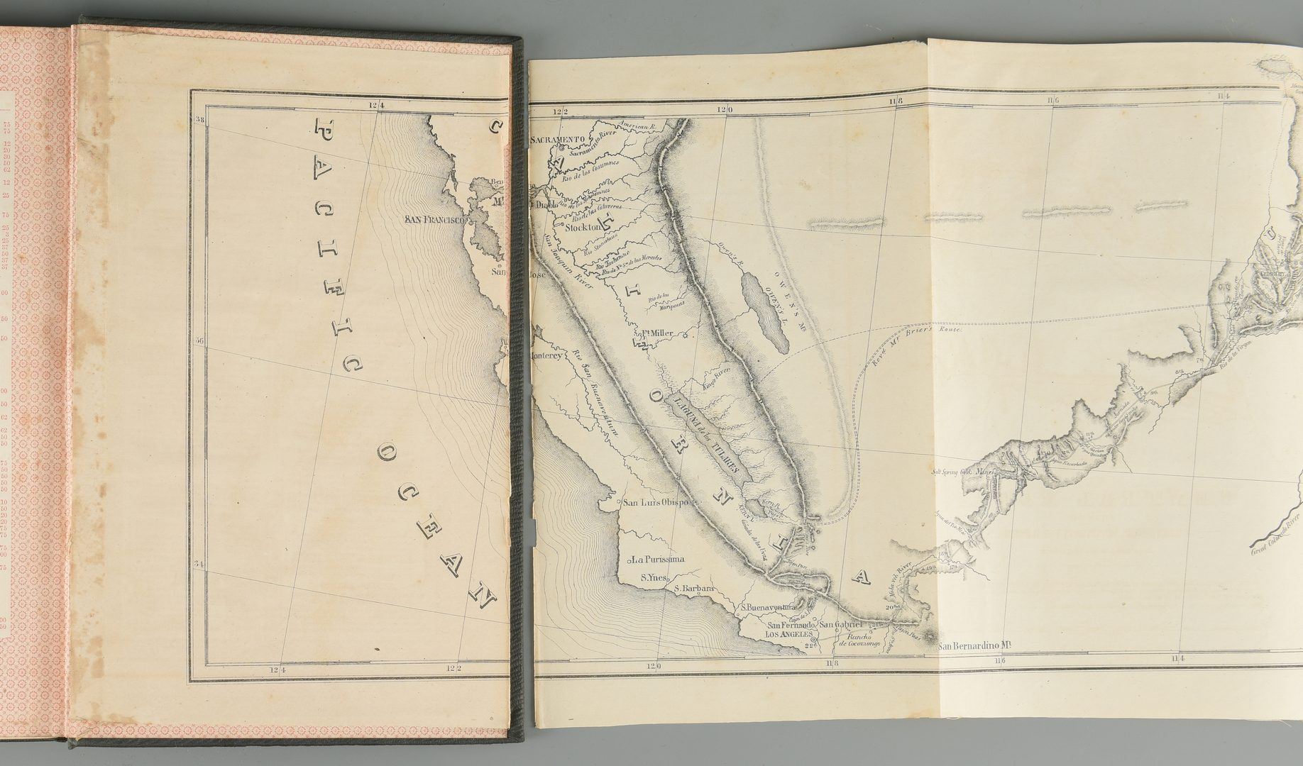 Lot 554: Heap Central Route to the Pacific w/ MAP