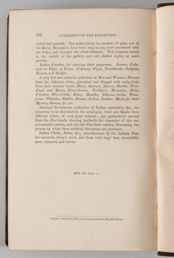 Lot 556: Catlin's Notes in Europe 2 vols