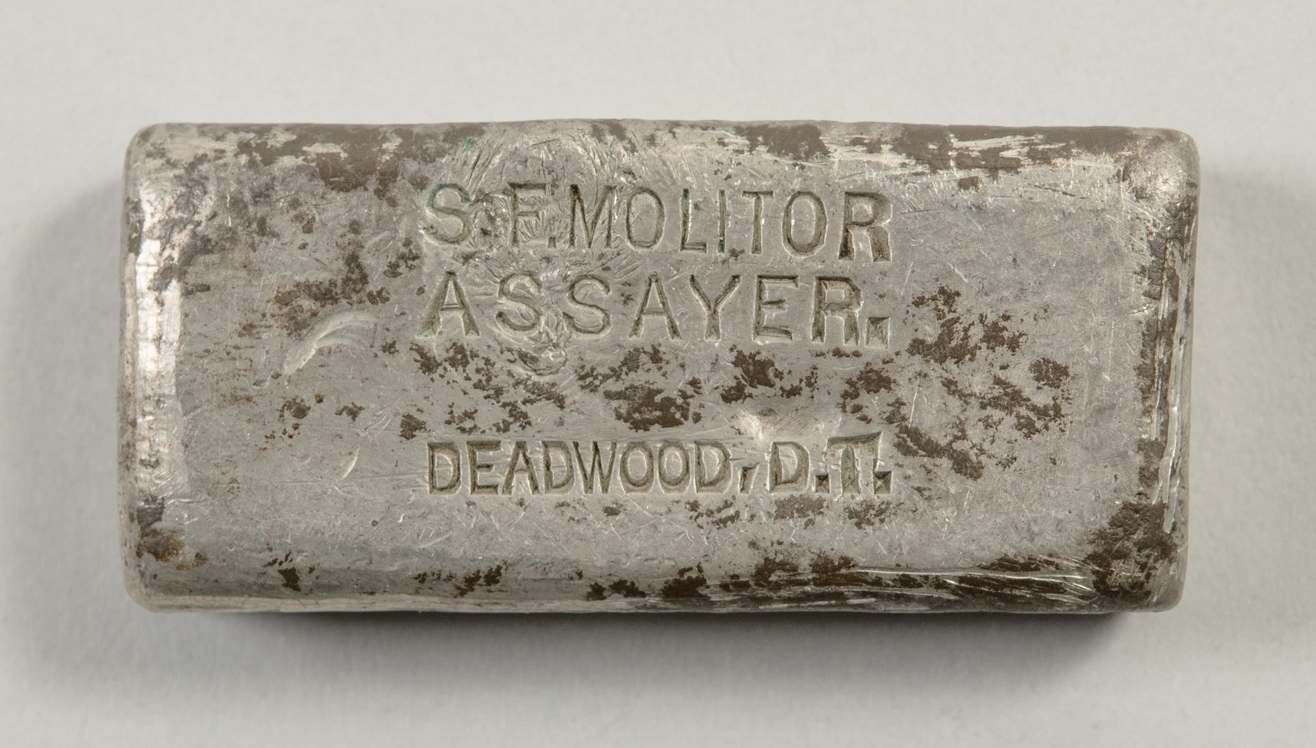 Lot 567: Fred Dennett Archive, inc. Tin Ingot