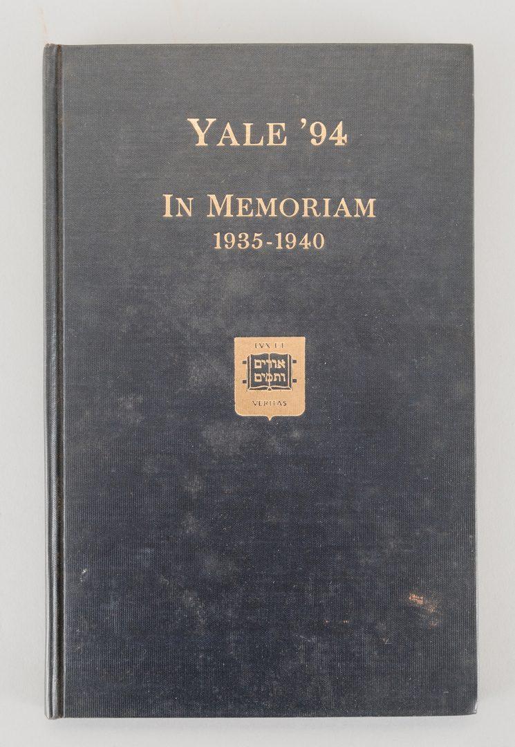 Lot 568: Yale Univ. 1894 Archive, Mug