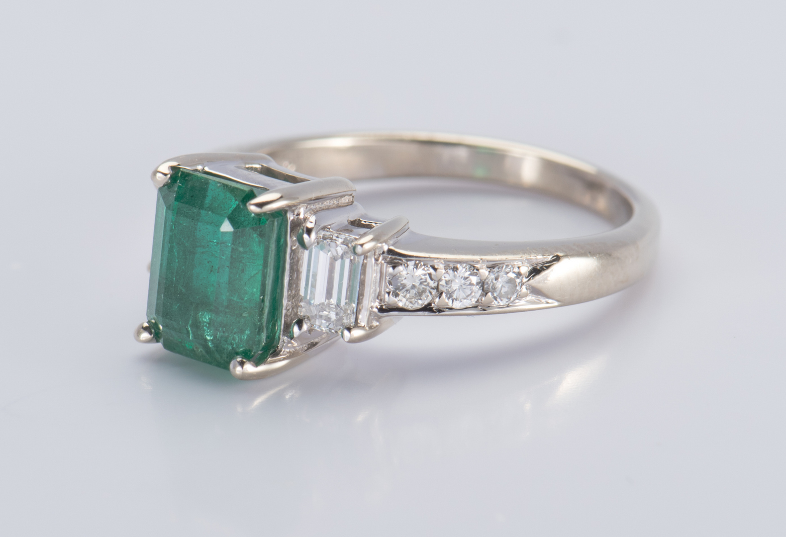 lot 57 14k emerald and ring
