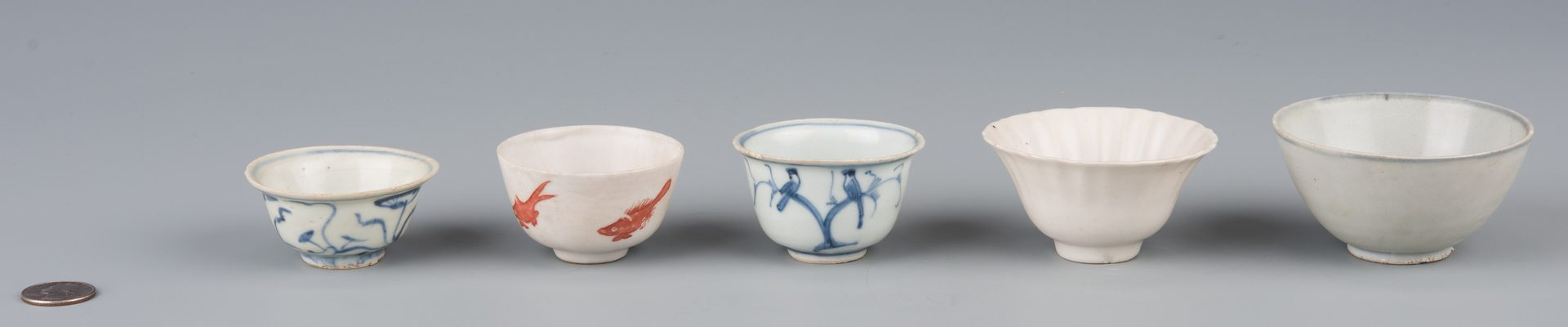 Lot 584: 5 Asian Cups inc. Carp