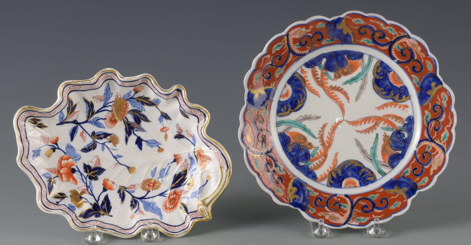 Lot 592: Imari Palette Porcelain Items, mostly Asian