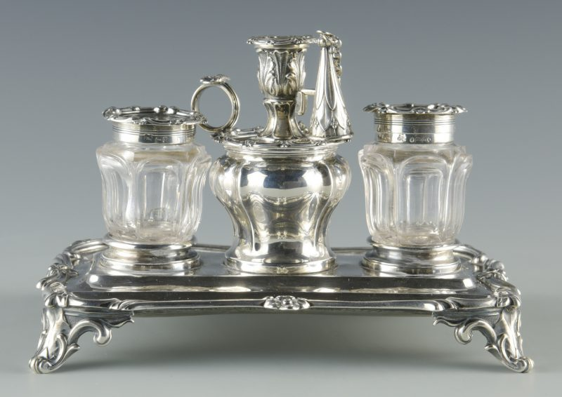 Lot 59: English Sterling Standish, 1835